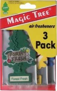 Pack of 3 Little Tree air fresheners - 75p instore @ Asda Rayleigh