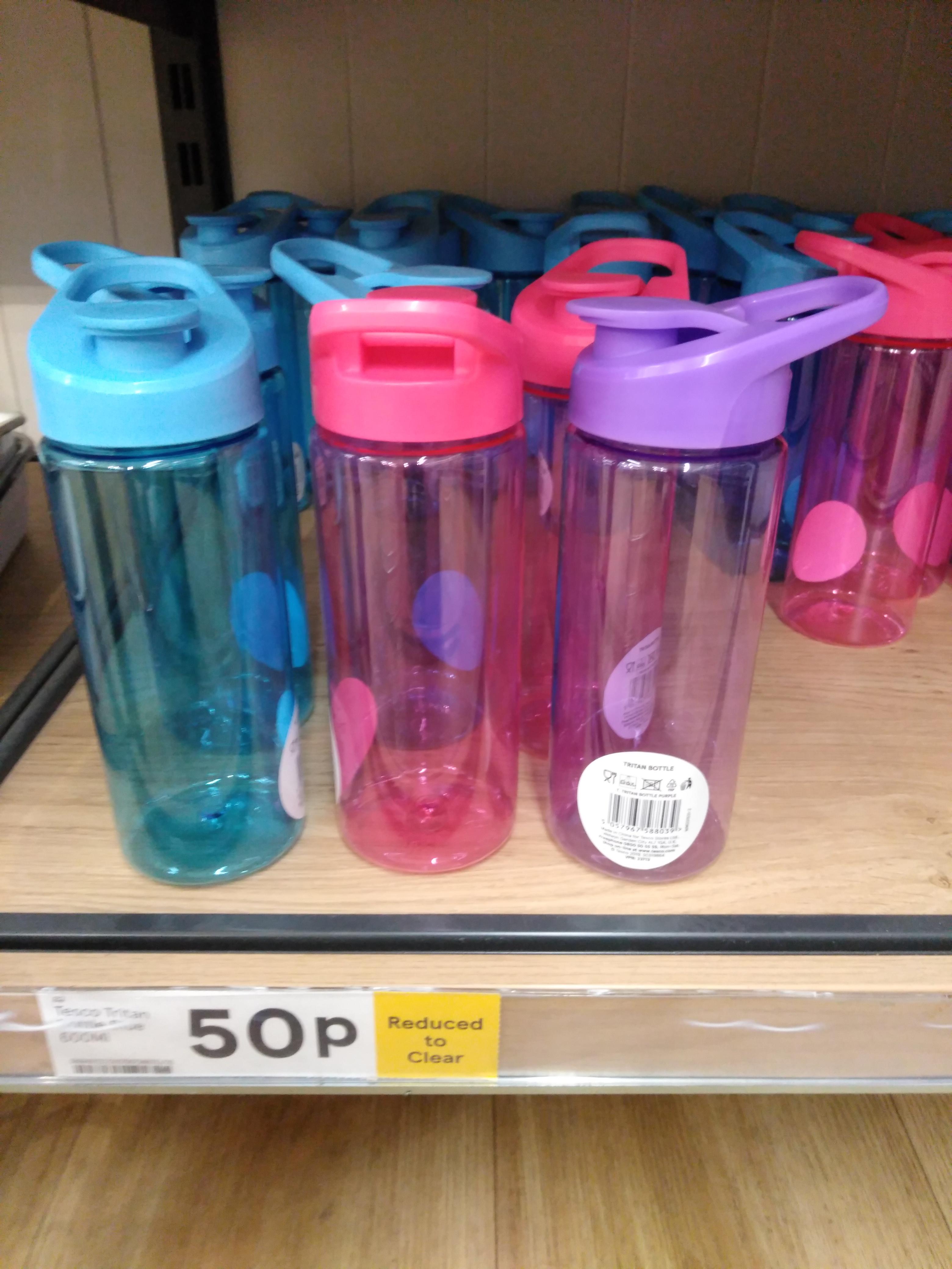 Tesco-Tritan Bottle Instore (W.Cromwell Road W14) £0.50