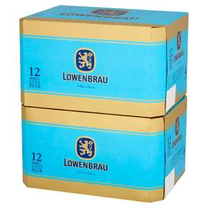 Lidl - 2 x 12 x 440ml Lowenbrau Beer - £12 instore