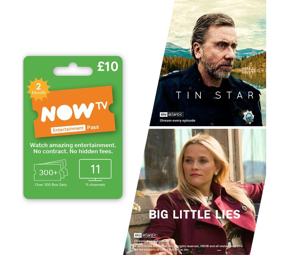 NowTV 2 Month Entertainment pass £10 @ Currys