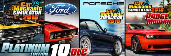 Car Mechanic Simulator 2018 Platinum Edition - £26.48 @ Steam Store