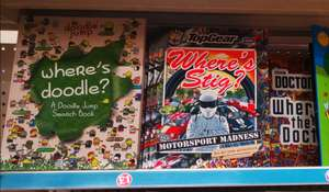 Where's Doodle? Doodle Jump Search Book/TopGear Where's Stig?/Where's Doctor Who? Books, £1 In Store @ Argyle Street, Glasgow Poundland