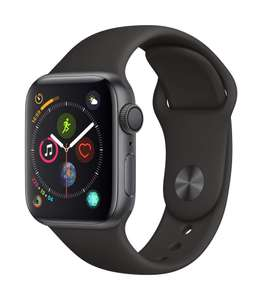 Apple Watch Series 4 (GPS, 40mm) - Space Grey Aluminium Case with Black Sport Band £339 @ Amazon