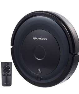 Amazonbasics Slim Robot Vacuum Cleaner 18W(800Pa) with 4 Cleaning Modes Anti-Collision n Robot Vacuum £95.99 Prime Exclusive @ Amazon