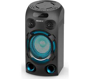 2019 Sony MHC-V02 LDAC (High Res) Bluetooth Megasound Party Speaker Voice Controlled Disco Blue Light - Black - £149 @ Currys PC World