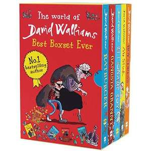 David Walliams Best Boxset Ever (5 Books) £10 with code, free C&C @ the Works