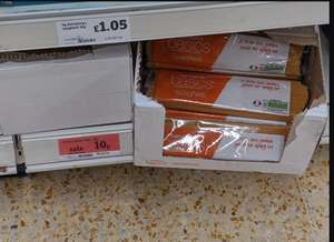 Sainsbury's basics spaghetti  £0.10 - Whitley bay