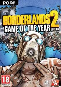 Borderlands 2 Game of the Year Edition PC Steam Key £2.99 / HandSome Collection £3.99 @ CDKeys