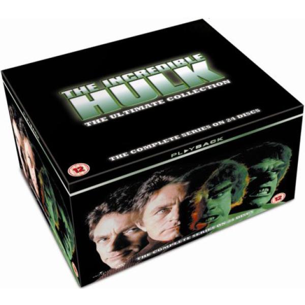 The Incredible Hulk - Complete Series 1 - 5 £19.98 delivered @ Zavvi