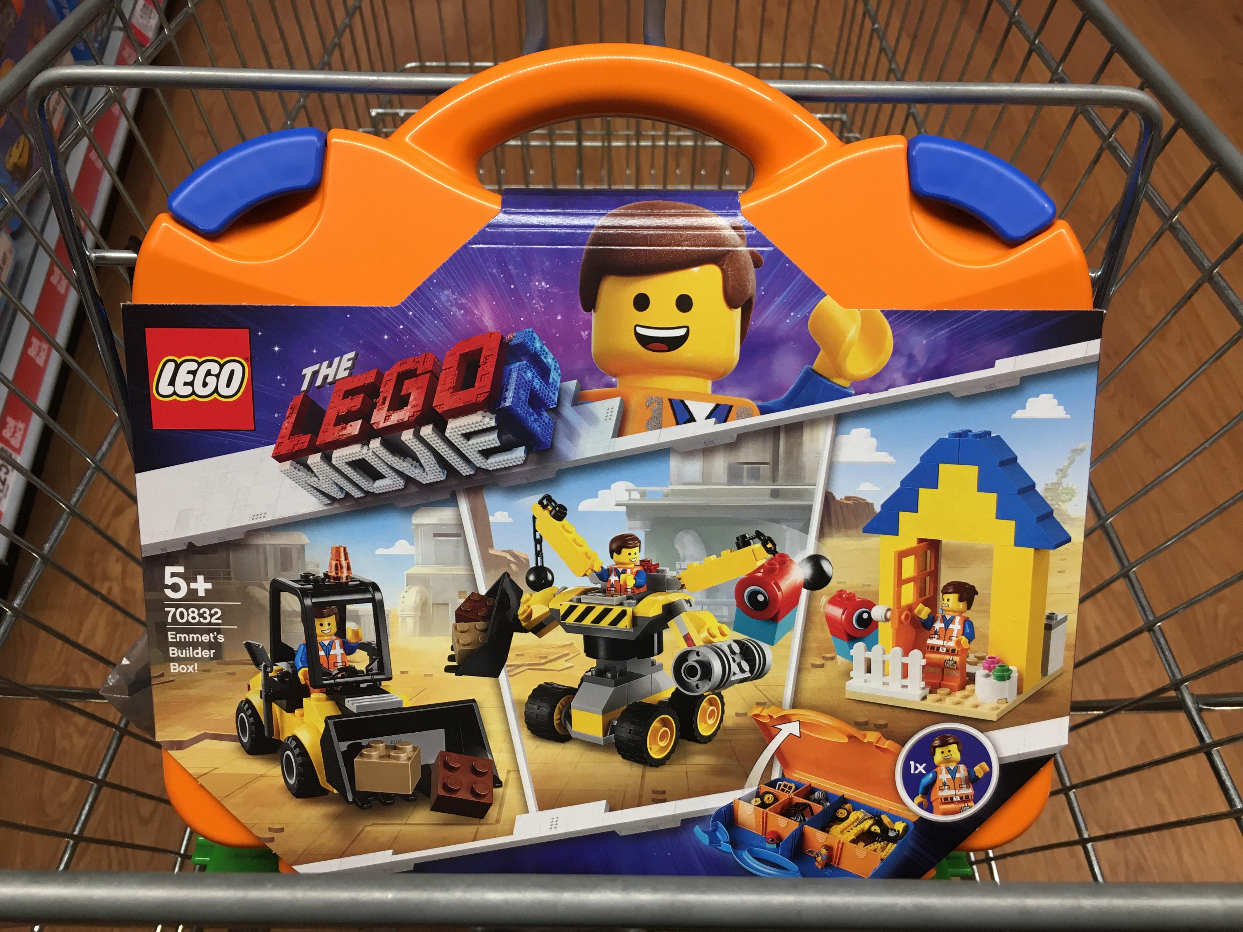 Lego 70832 Lego Movie 2 Emmets Builder Box £17.50 @  Asda instore / online