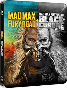 Mad Max: Fury Road Black & Chrome Edition - Zavvi Exclusive Steelbook (Includes Colour Theatrical Cut) £11.98 @ Zavvi
