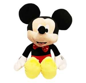 Extra Large Disney Mickey Mouse Plush Soft Toy 30''/77cm £10 with code @ The Works - (Free C&C)