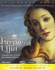 Florence and the Uffizi Gallery Documentary - Museum & Art Gallery Tour in 4K + 3D + Blu-Ray + DVD Ltd Ed - £18.23 Delivered @ Amazon Italy