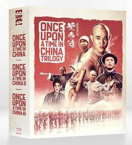 Once Upon a Time in China Limited Edition Blu-ray box set £27.99 @ eurekavideo