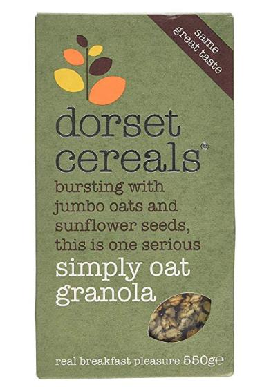 Dorset Cereals - Simply Oat Granola 550g £1 Heron