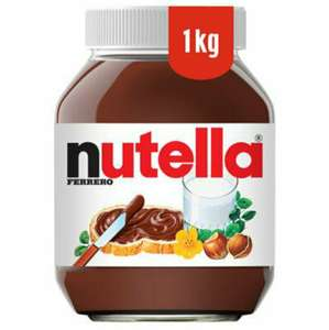 1KG Nutella Hazelnut Spread with Cocoa £3.89 @ Costco