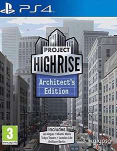 Project Highrise Architect's Edition (PS4) for £4.99 delivered @ Simply Games
