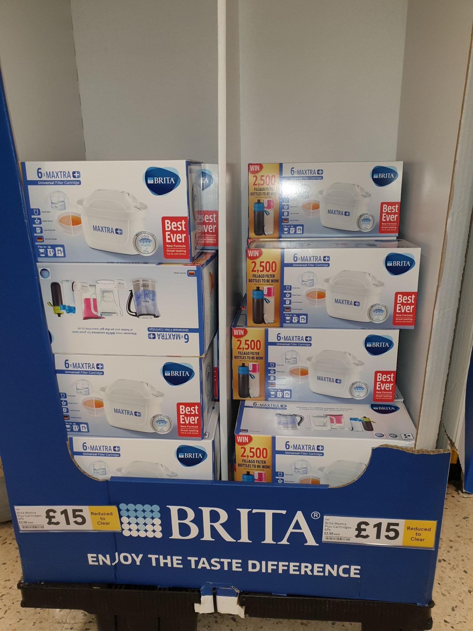 Brita  maxtra plus 6pk £15 instore @ Tesco Feltham