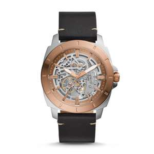 Up to 60% off automatic watches at Fossil Outlet now £155 (free delivery)