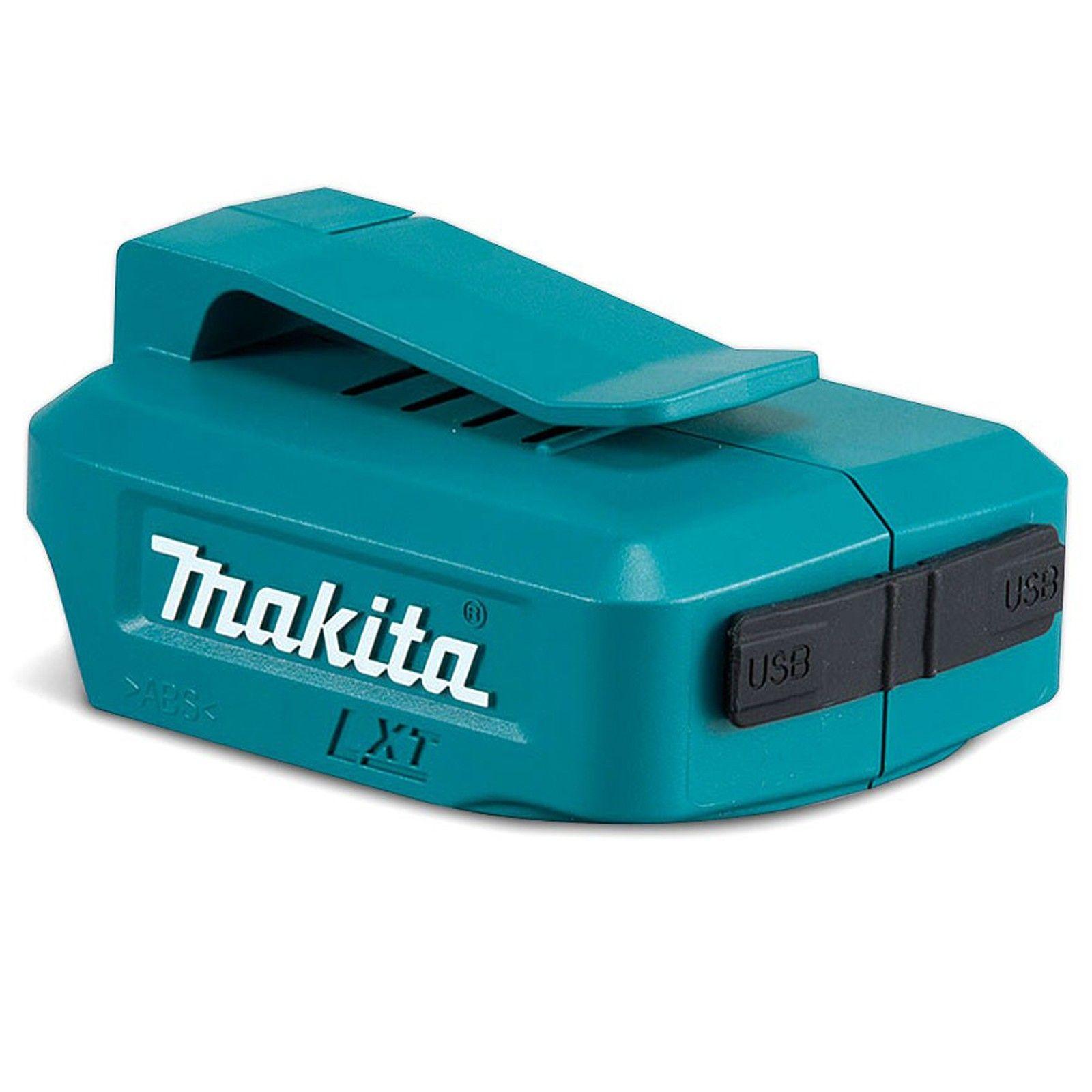 Makita 18v USB Charger Adaptor @ Amazon - £14.99 Prime (+£4.49 non-Prime)