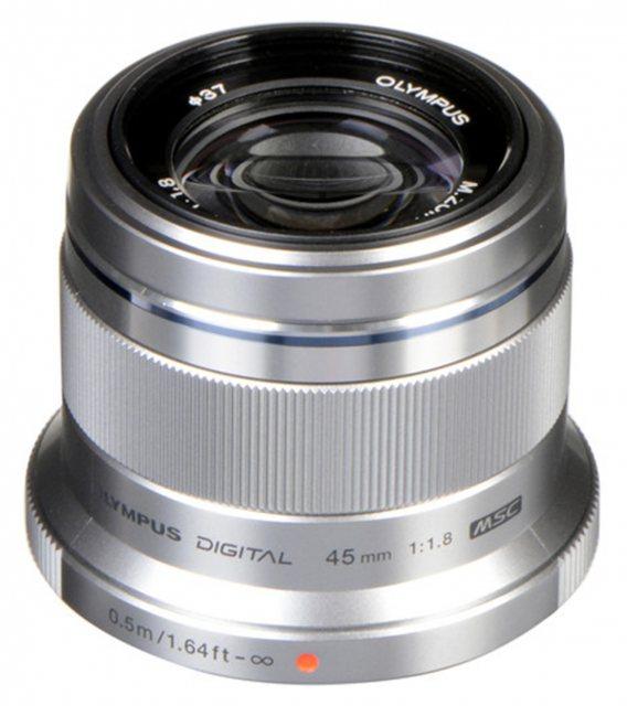 Fantastic Little Olympus M.ZUIKO DIGITAL 45mm f1.8 Lens, In Silver - £159 @ Castle Cameras