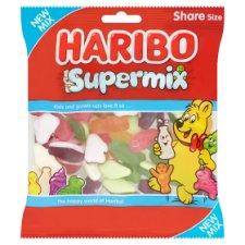 Tesco - Haribo Supermix/Starmix/Giant Strawberries/Squidglets/Tangfastic 190g - £0.85 was £1.25