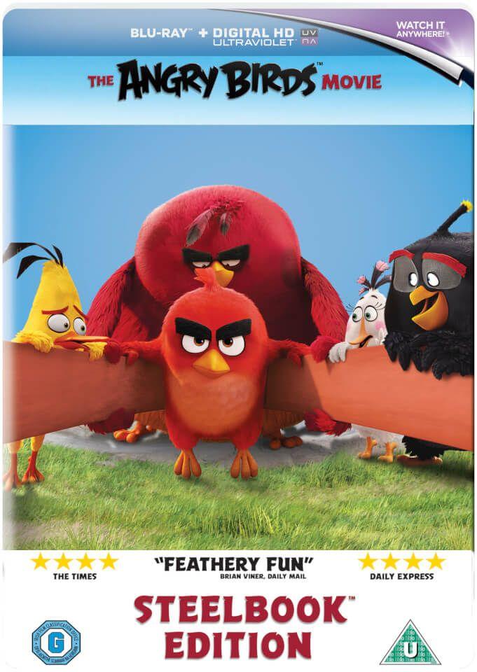 Angry Birds Blu-ray Steelbook Edition Includes Digital Copy - £5 @ Amazon Prime / £7.99 non-Prime