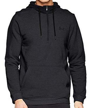 Under Armour Men's Micro Thread Fleece 1/2 Zip Warm-up Top Size Medium @ Amazon - £17.30 Prime (+£4.49 non-Prime)