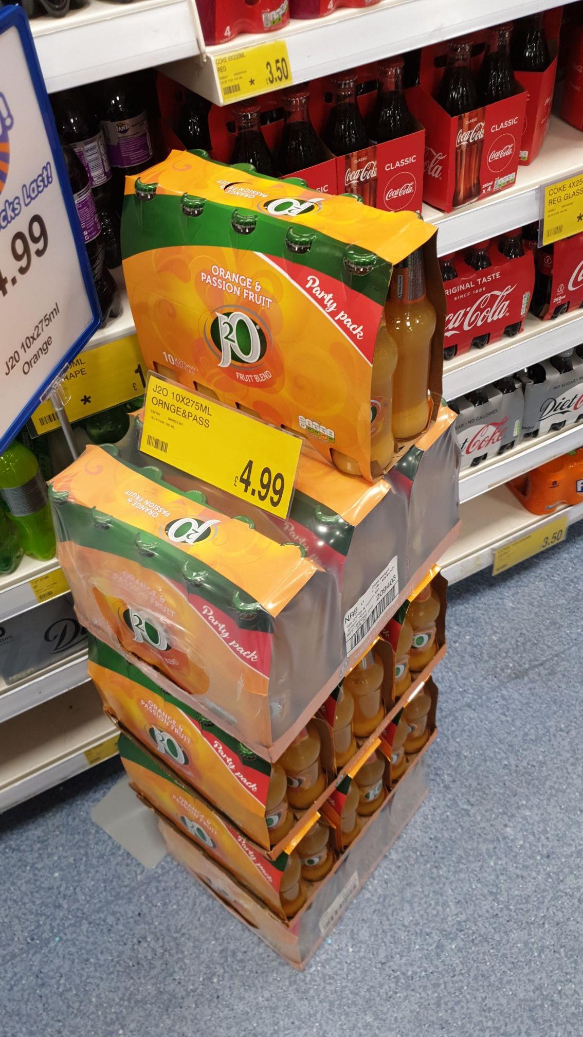 J20-Pack of 10 for £4.99 Instore @ B&M (Leytonstone)