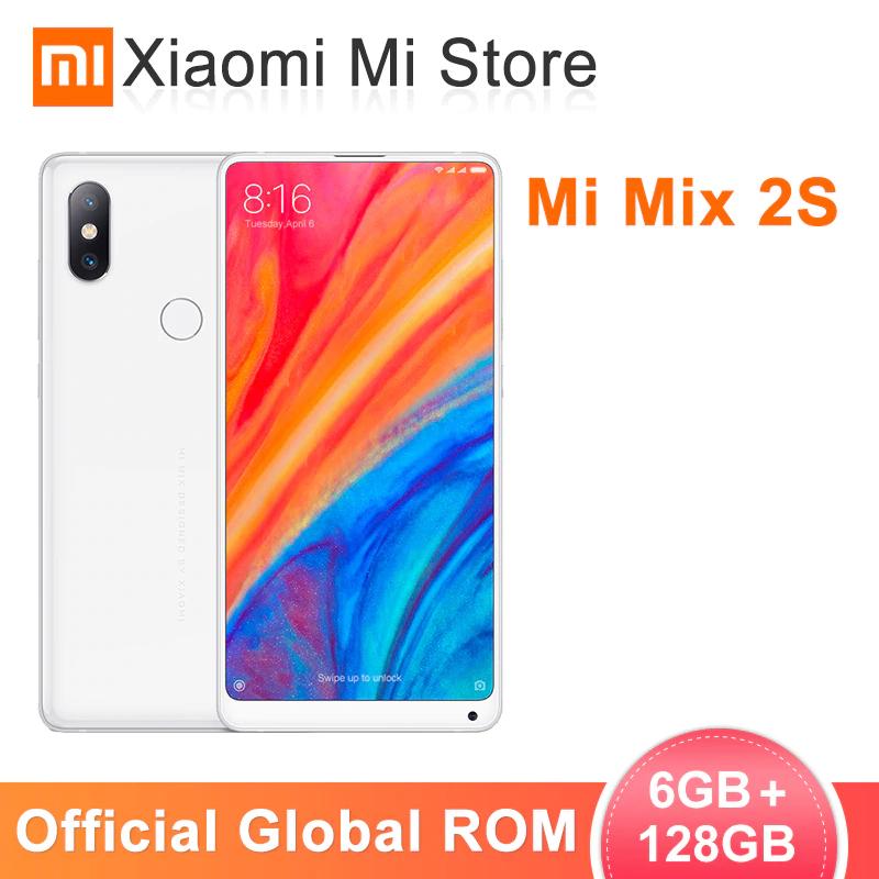 """Global ROM Xiaomi Mi Mix 2S 6GB 128GB Snapdragon 845 5.99"""" 12MP Dual Cameras Wireless charging - £203.28 @ xiaomi mi store/aliexpress"""