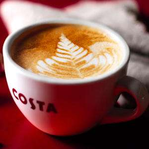 Free hot drink from Costa Coffee @ Vodafone VeryMe