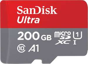 SanDisk Ultra 200GB microSDXC Memory Card + SD Adapter £21.29 delivered @ Amazon