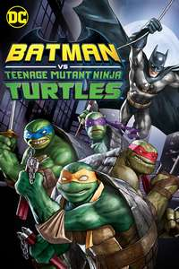 Batman vs TMNT 4K DV £3.99 @ itunes UK