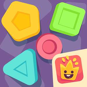 Exo Pexo Smart Shape Sorter / Exo Pexo Letter & Number Trace (Children's Puzzle Games on Android) Temporarily FREE on Google Play (was 99p)