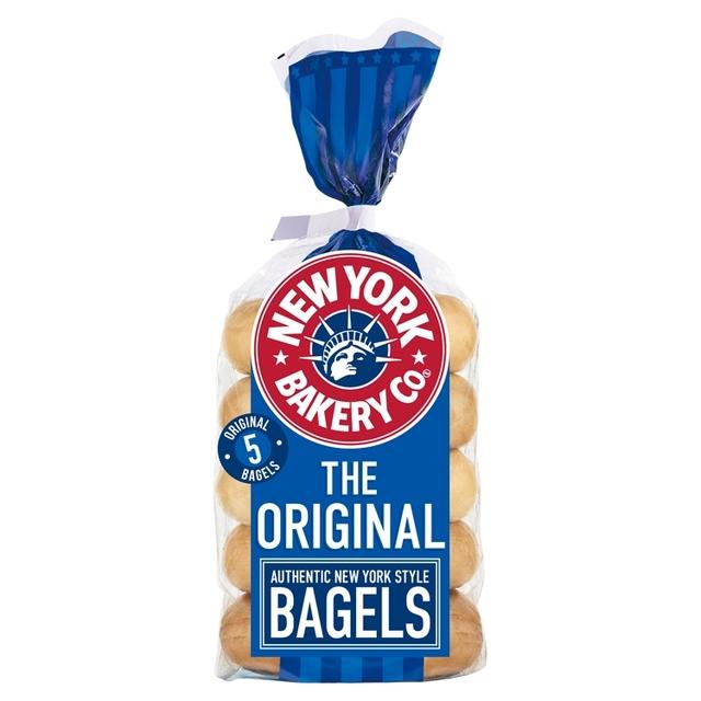 New York Bakery Bagels 5 pack (All Varieties) £1 @ Morrisons