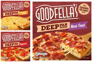 Goodfella's Deep Pan Baked Pepperoni 415g / Deliciously Cheesy 421g /  Meat Feast 415g for £1 each (3 for £3 offer) @ Morrisons