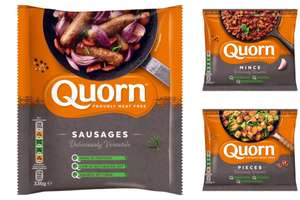 Quorn Mince 300g /  Quorn Pieces 300g / Quorn Sausages 8 Pack (8 x 42g) for £1 each (3 for £3 offer) @ Morrisons