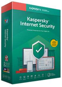 Kaspersky internet security £13.50 for 12 months' protection - Exclusive Student Offer