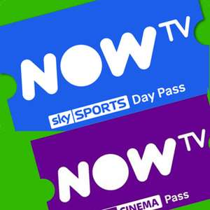 Buy a Sky Sports Day Pass from £9.98 and Get a 1 Month Free Cinema Pass for Existing Customers @ Now TV