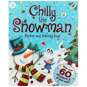 Chilly The Snowman - Sticker And Activity Book 80p with code @ The Works (Free C&C)