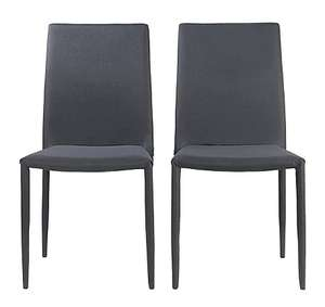 Wyatt Pair of Chairs - Grey for £32.95 delivered @ George