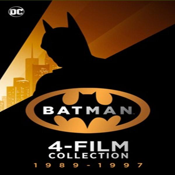 Batman 89-97 (4K) 4 Movie Collection £14.99 @ iTunes - or £4.99 each