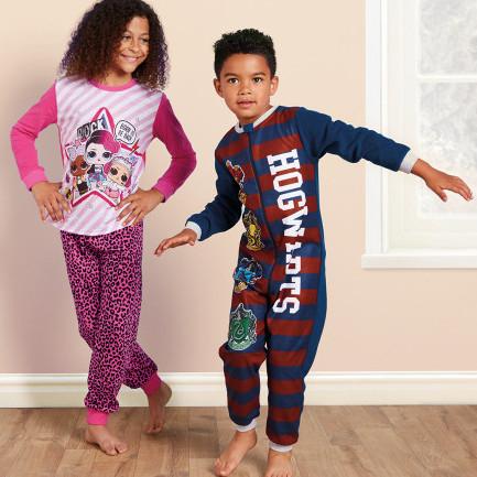 Kids Character Pyjamas £4.99 / Onesies £6.99 - Incl. Harry Potter, Shaun The Sheep & Spiderman online now / instore Sunday 22nd @ Aldi