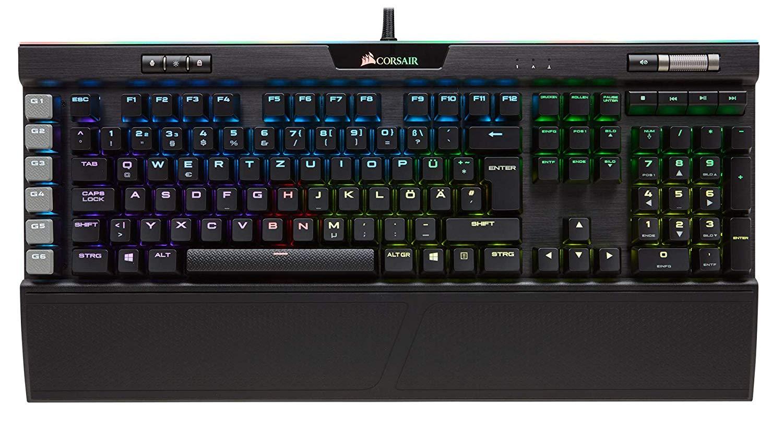 Corsair K95 Platinum Mechanical Keyboard Cherry MX Brown - German Layout £98.90 @ Amazon