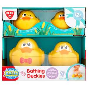 Playgo Bathing Duckies for £1.25 @ Morrisons