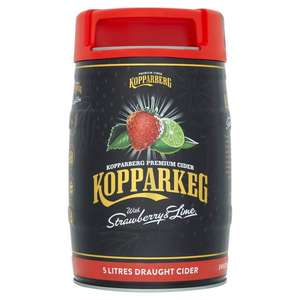 Kopparkeg strawberry and lime £12 and mixed fruit online @ Morrison's