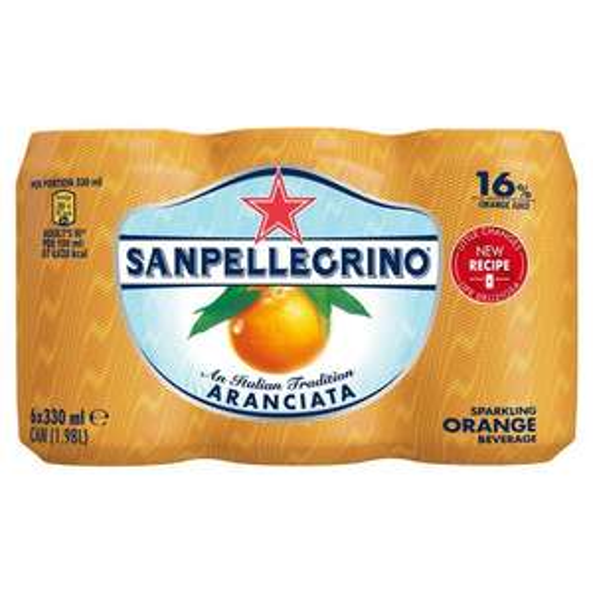 San Pellegrino 6x330ml Sparkling Orange, Lemon, Blood Orange £2.65 with Tesco Clubcard £3.79 without @ Tesco