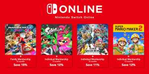 Digital Switch game + 1 Year Switch Online from £58.99 @ Nintendo eShop (Mario Kart 8 Deluxe, Smash Ultimate, Splatoon 2, Mario Maker 2)