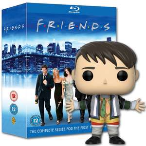Friends: The Complete Series Collection On Blu-Ray +  Free Joey Funko Pop £49.49 On First Orders with code @ Warner Bros