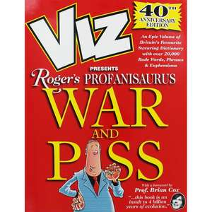 Viz - Rogers Profanisaurus War and **** 40th Anniversary £5 @ The Works  c&c